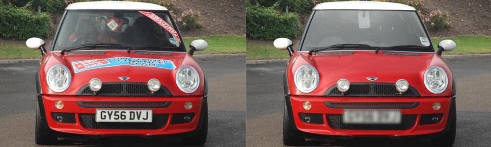 Vehicle Image Manipulation